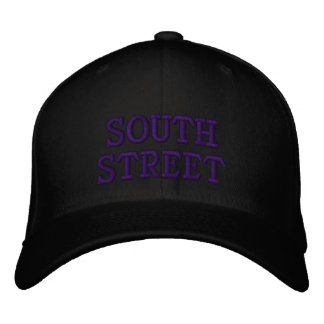 SOUTH STREET EMBROIDERED BASEBALL CAPS