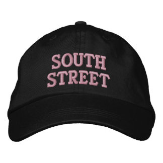 SOUTH STREET EMBROIDERED HATS