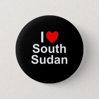 South Sudan 6 Cm Round Badge