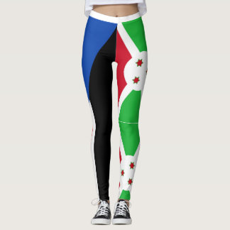SOUTH SUDAN AND BURUNDI LEGGINGS