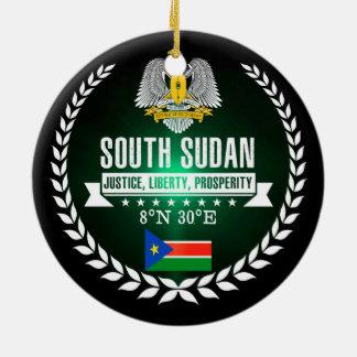 South Sudan Ceramic Ornament