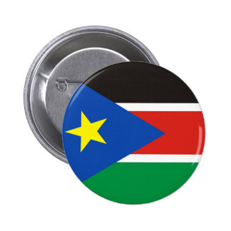 south sudan country long flag nation symbol 6 cm round badge