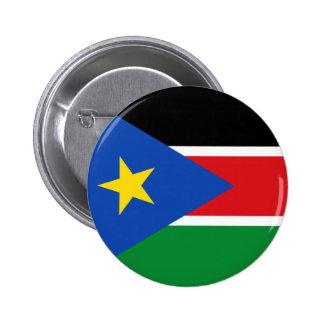 south sudan flag 6 cm round badge