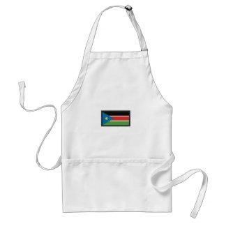 SOUTH SUDAN FLAG STANDARD APRON