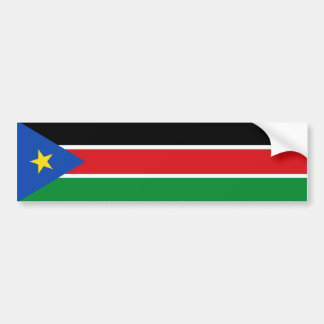South Sudan Flag Car Bumper Sticker