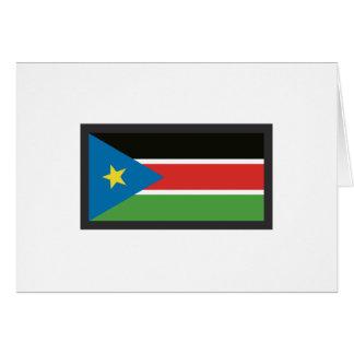 SOUTH SUDAN FLAG CARDS