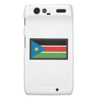 SOUTH SUDAN FLAG DROID RAZR CASES