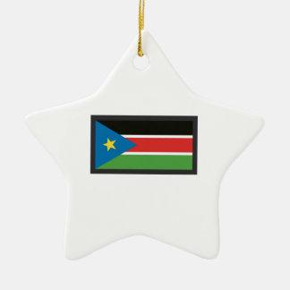 SOUTH SUDAN FLAG ORNAMENT