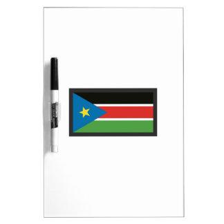 SOUTH SUDAN FLAG Dry-Erase WHITEBOARDS