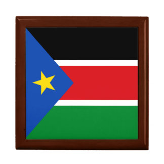 South Sudan Flag Gift Box