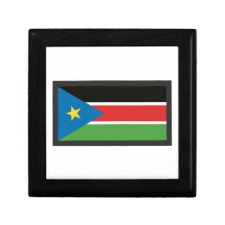 SOUTH SUDAN FLAG TRINKET BOX