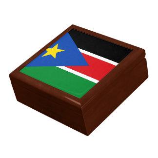 South Sudan Flag Gift Box