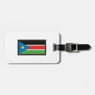 SOUTH SUDAN FLAG TAGS FOR BAGS