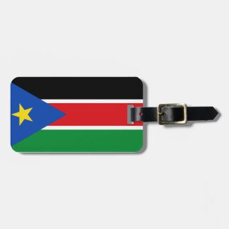 South Sudan Flag Bag Tags