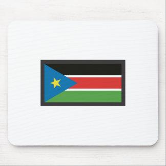 SOUTH SUDAN FLAG MOUSE PAD