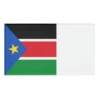 South Sudan Flag Name Tag