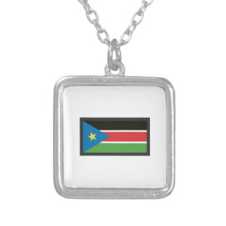 SOUTH SUDAN FLAG NECKLACE