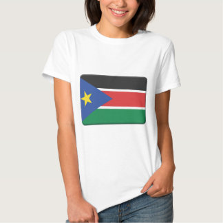 South Sudan Flag PERSONALIZE T Shirt