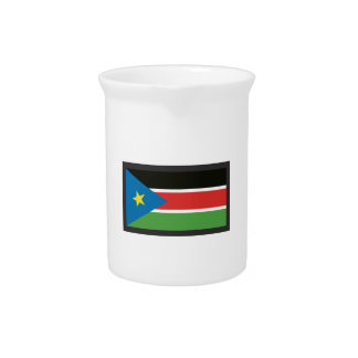 SOUTH SUDAN FLAG DRINK PITCHERS