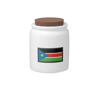 SOUTH SUDAN FLAG CANDY DISH