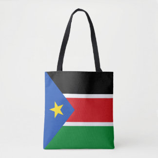 South Sudan Flag Tote Bag