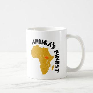 South Sudan Map Design Coffee Mug