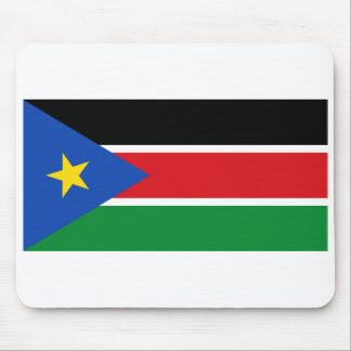 South Sudan National Flag Mouse Pad