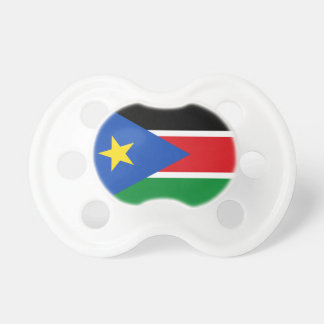 South Sudan National World Flag Baby Pacifiers