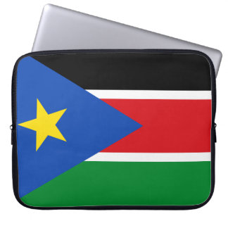 South Sudan National World Flag Laptop Sleeve