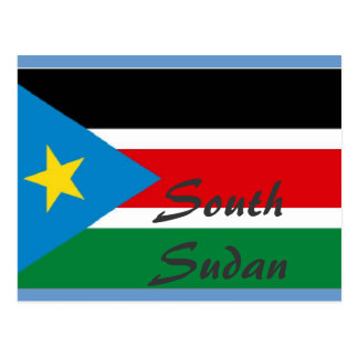 South Sudan postcard