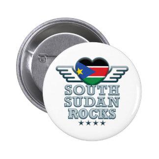 South Sudan Rocks v2 Pins