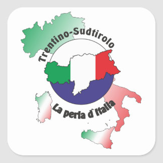 South Tyrol - Alto Adige - Italy - Italia sticker