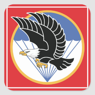 south vietnam airborne eagle square sticker