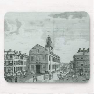 South West View of The Old State House Mouse Pad