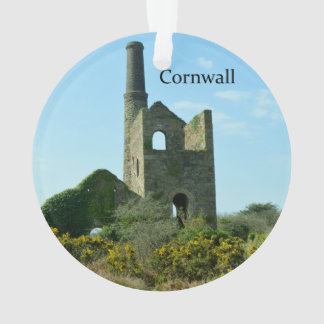 South Wheal Frances Tin Mine Cornwall England Ornament