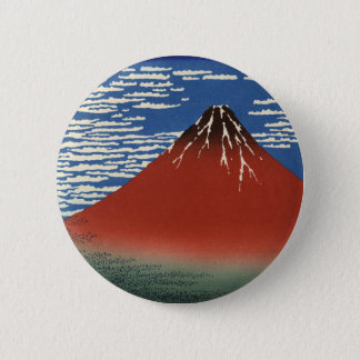 South Wind, Clear Sky 6 Cm Round Badge