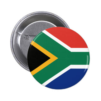 Southafrican flag 6 cm round badge