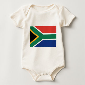 Southafrican flag baby bodysuit
