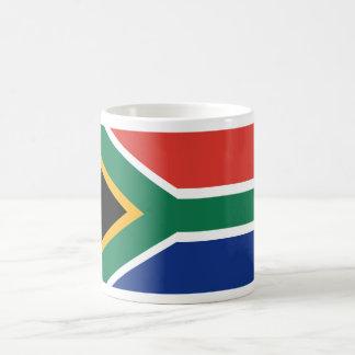 Southafrican flag coffee mug