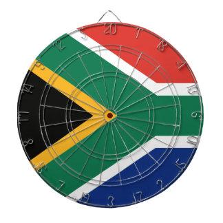 Southafrican flag dartboard