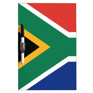 Southafrican flag Dry-Erase whiteboard