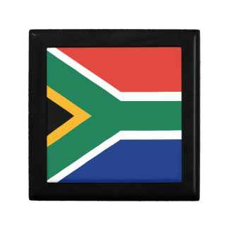 Southafrican flag gift box