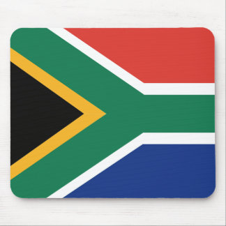 Southafrican flag mouse pad