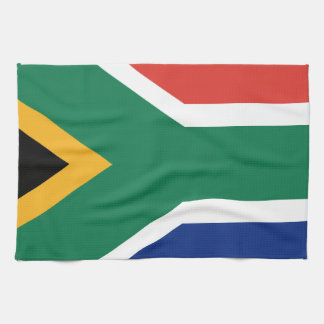 Southafrican flag tea towel