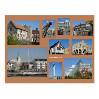 Southampton multi-image postcard