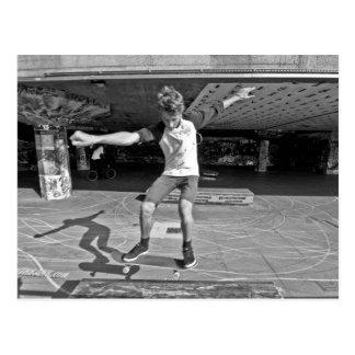 Southbank Skater, London Postcard