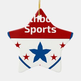 Southbound Sports Crest Logo Ceramic Star Decoration