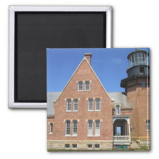 Southeast Lighthouse Building Block Island Magnet