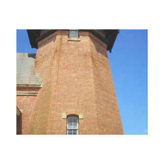 Southeast Lighthouse Tower Block Island Gallery Wrap Canvas