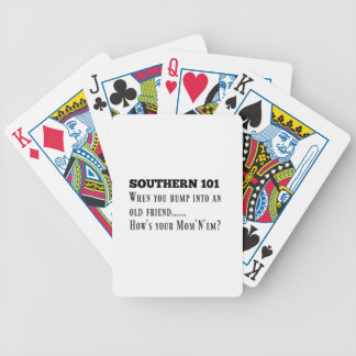 Southern101-1 Bicycle Playing Cards